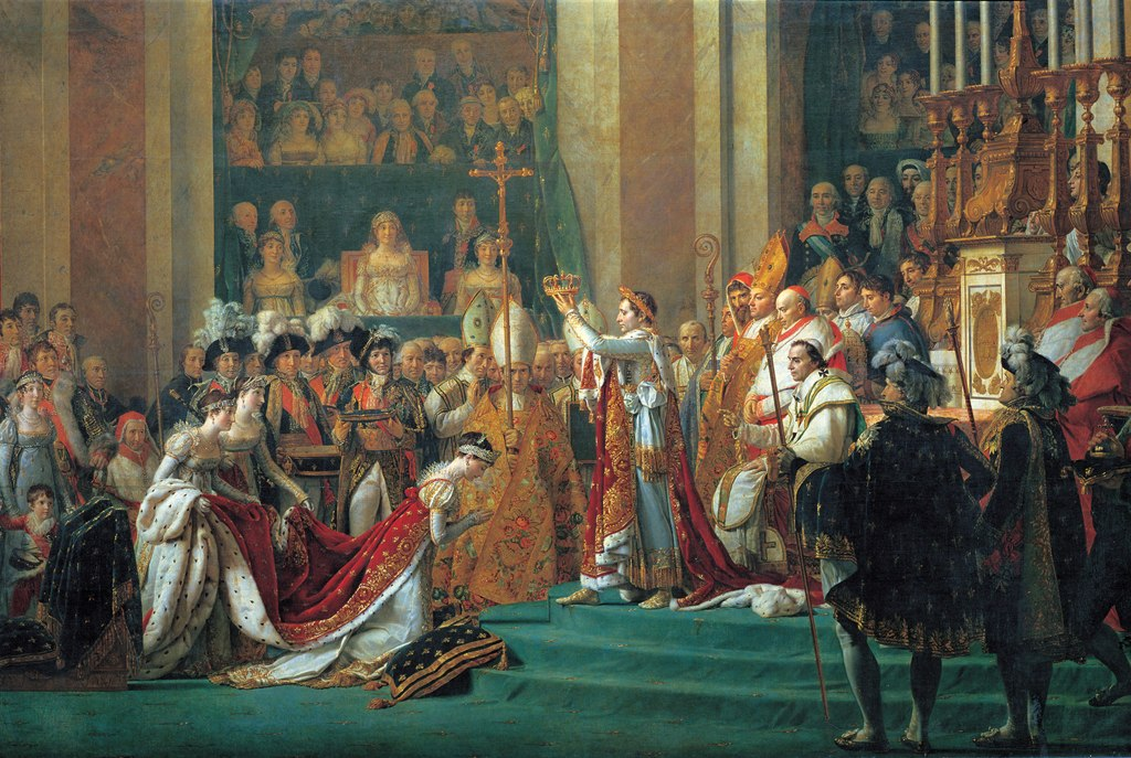 The Coronation Of Napoleon - 1000pc Jigsaw Puzzle by Tomax