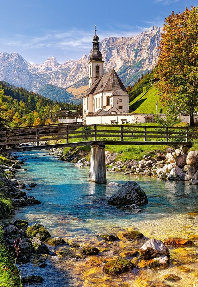 Ramsau, Germany - 1500pc Jigsaw Puzzle By Castorland  			  					NEW