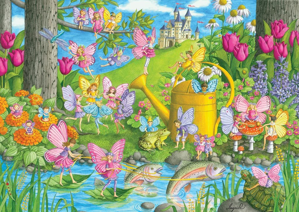 Fairy Playland - 100pc Jigsaw Puzzle by Ravensburger - image main