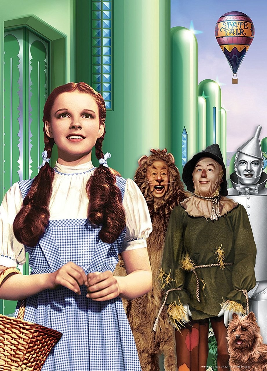The Wizard Of Oz: Dorothy & Friends Book Box - 1000pc Jigsaw Puzzle by Masterpieces  			  					NEW