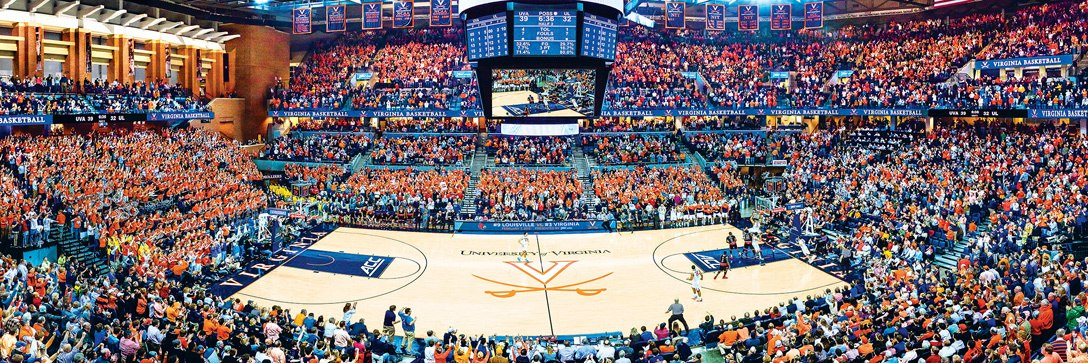 NCAA: Virginia - 1000pc Panoramic Jigsaw Puzzle by Masterpieces