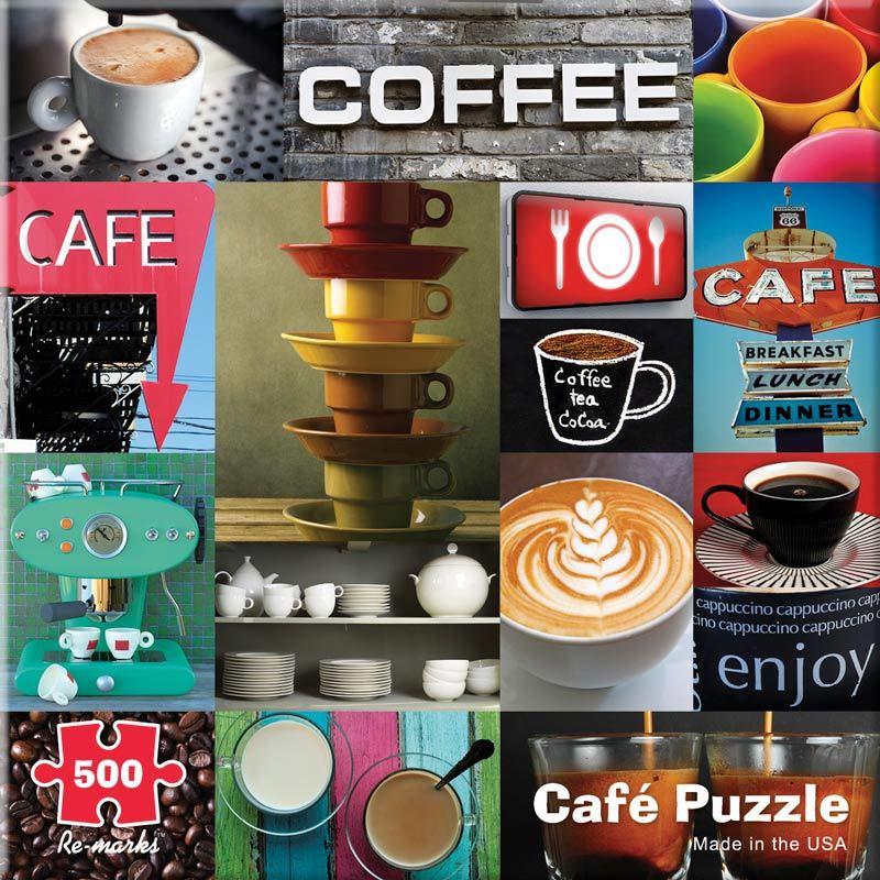 Cafe - 500pc Jigsaw Puzzle By Re-marks  			  					NEW