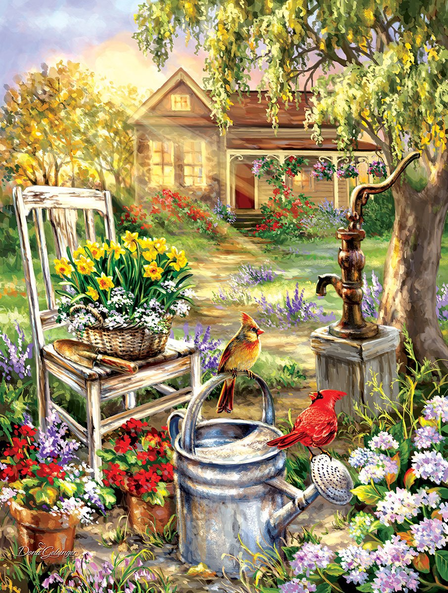 Spring Song - 500pc Jigsaw Puzzle by Sunsout  			  					NEW