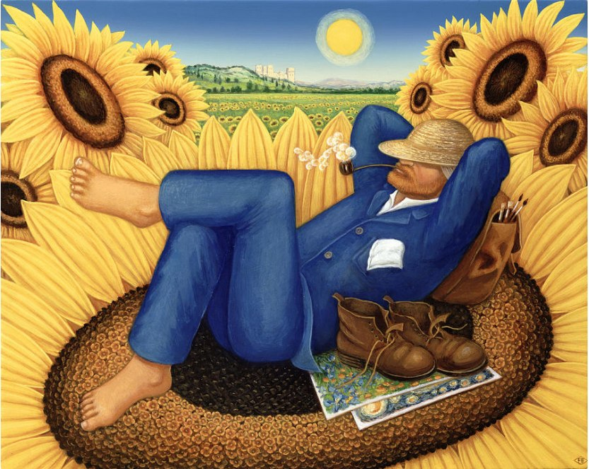 Broomfield: Van Gogh's Sunflowers - 500pc Jigsaw Puzzle by Pomegranate  			  					NEW