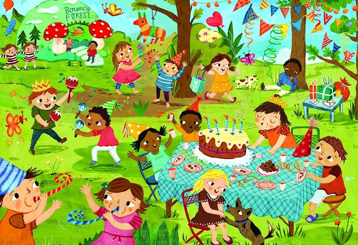 Birthday Party - 60pc Jigsaw Puzzle by Eurographics  			  					NEW