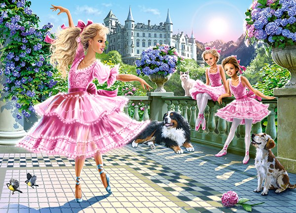 Ballet Dancers - 180pc Jigsaw Puzzle By Castorland