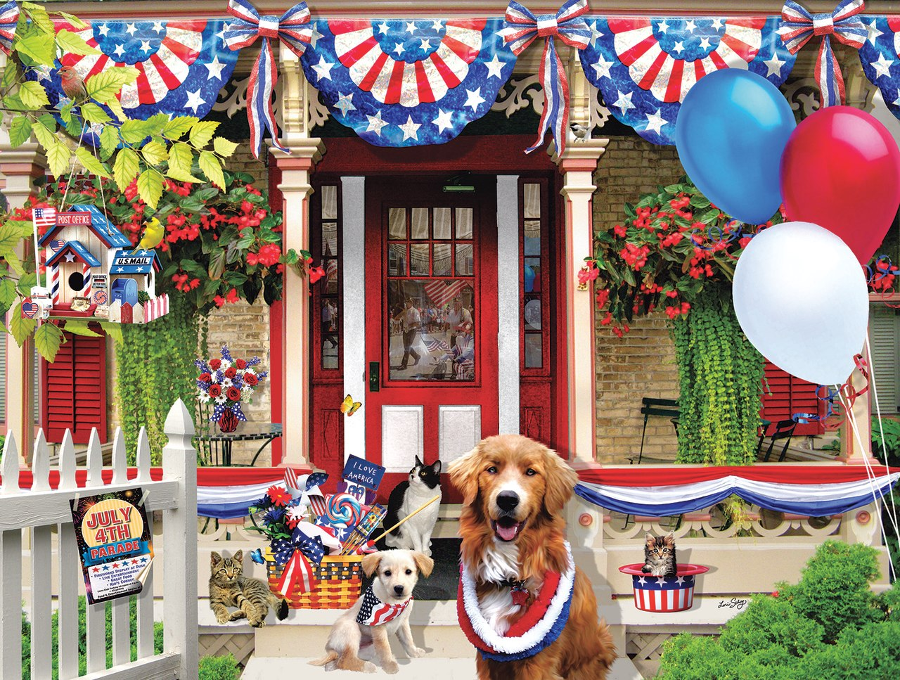 July 4th Parade - 500pc Jigsaw Puzzle by SunsOut  			  					NEW