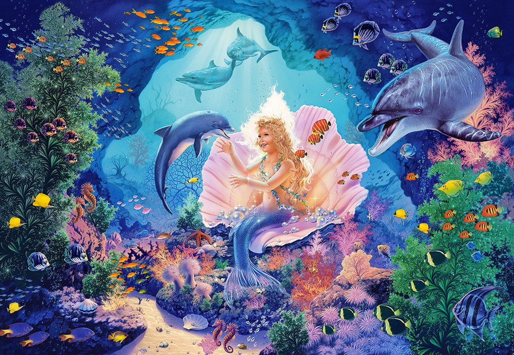 Pearl Princess - 1000pc Jigsaw Puzzle By Castorland  			  					NEW