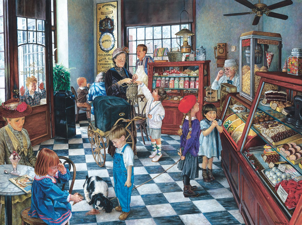 Confectionary Shop - 1000pc Jigsaw Puzzle by Sunsout  			  					NEW
