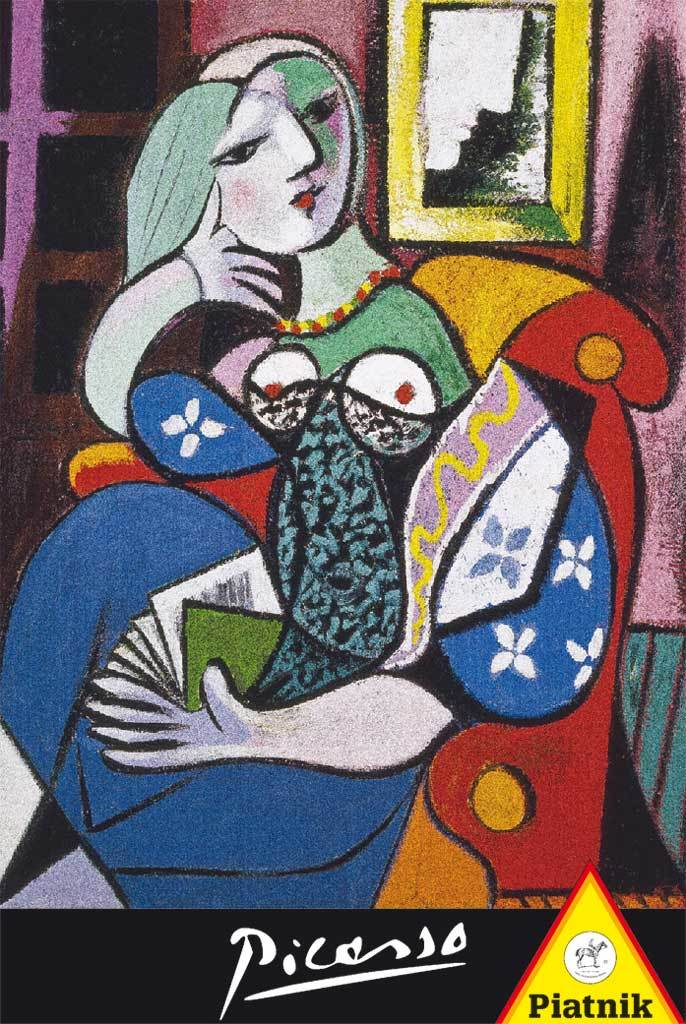 Picasso: Woman with a Book - 1000pc Jigsaw Puzzle by Piatnik
