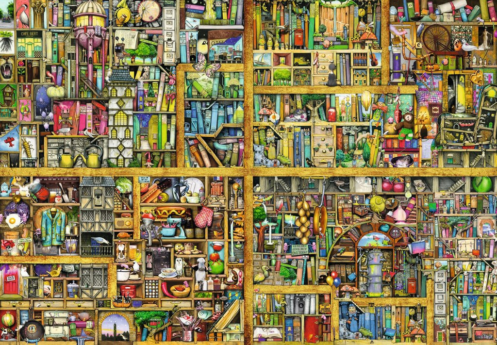 Magical Bookcase - 18000pc by Ravensburger