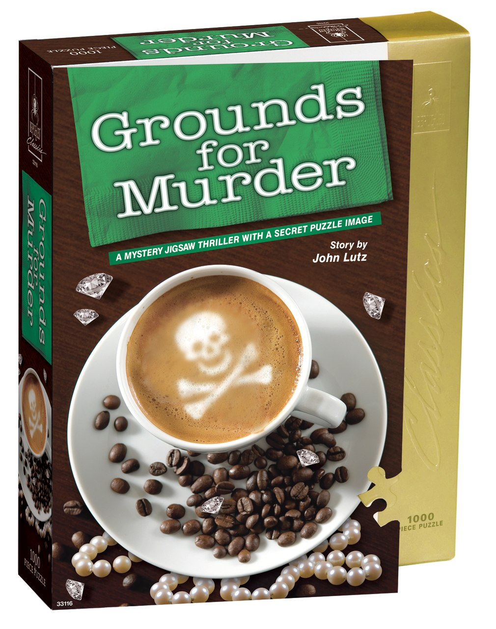Grounds for Murder - 1000pc Jigsaw Puzzle by BePuzzled