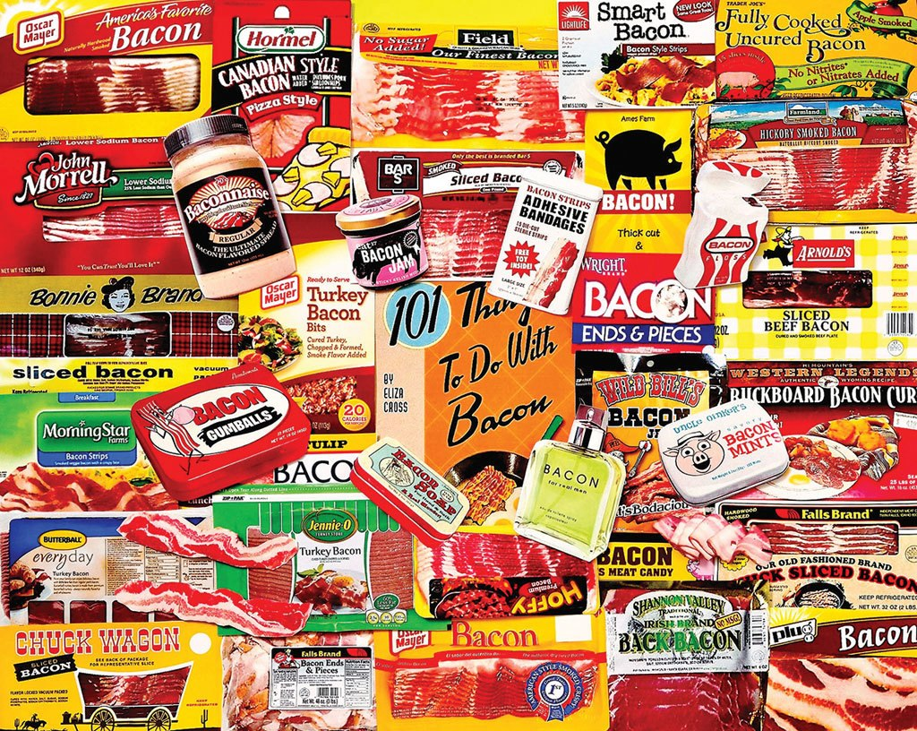 Bacon 101 - 1000pc Jigsaw Puzzle by White Mountain