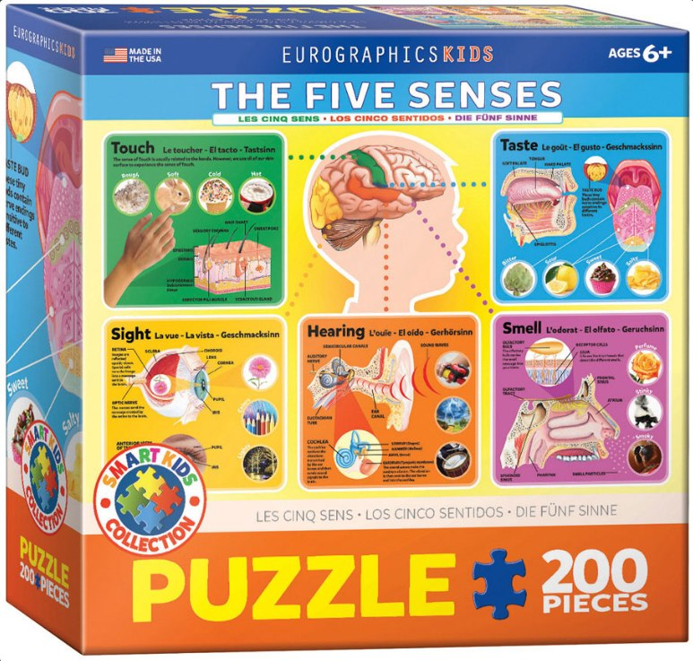 The Five Senses - 200pc Jigsaw Puzzle by Eurographics  			  					NEW