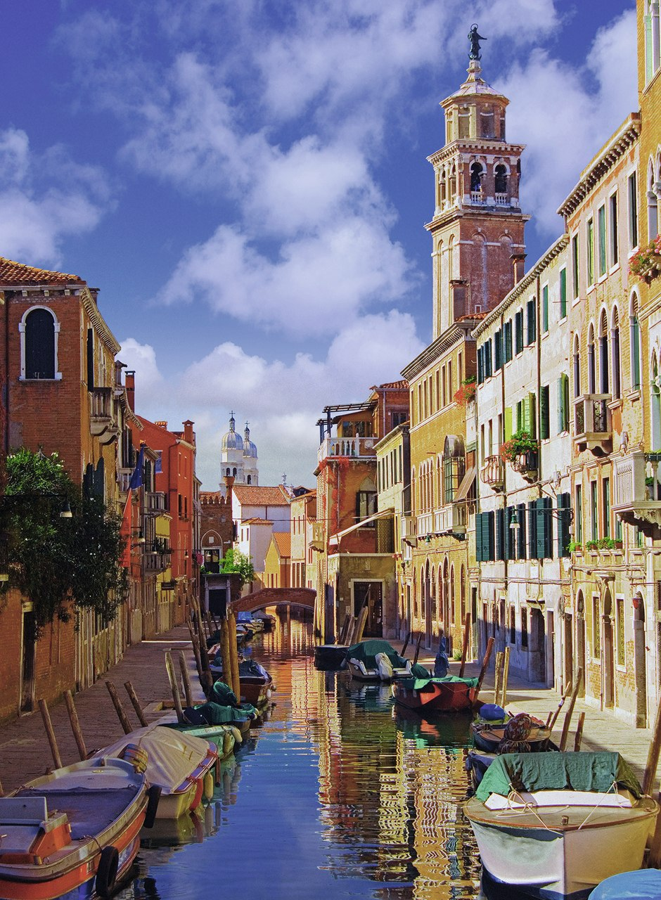 In Venice - 500pc Jigsaw Puzzle by Ravensburger