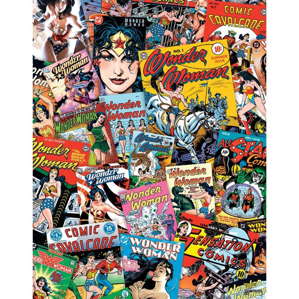 DC: Wonder Woman - 1000pc Jigsaw Puzzle by Aquarius  			  					NEW