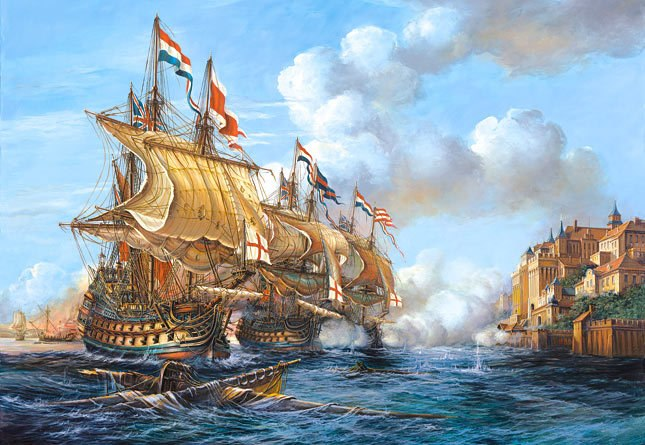 Battle of Porto Bello, 1739 - 2000pc Jigsaw Puzzle by Castorland