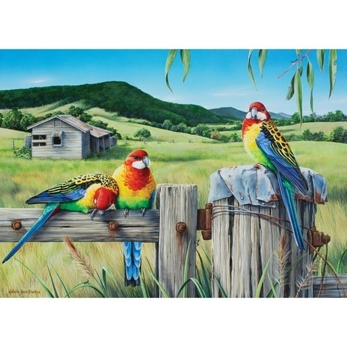 Wild Wings: A Country Life - 1000pc Jigsaw Puzzle by Holdson  			  					NEW