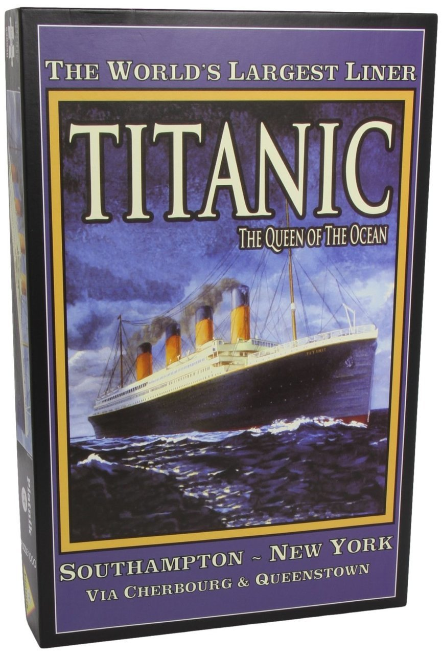 Titanic - 1000pc Jigsaw Puzzle by Piatnik