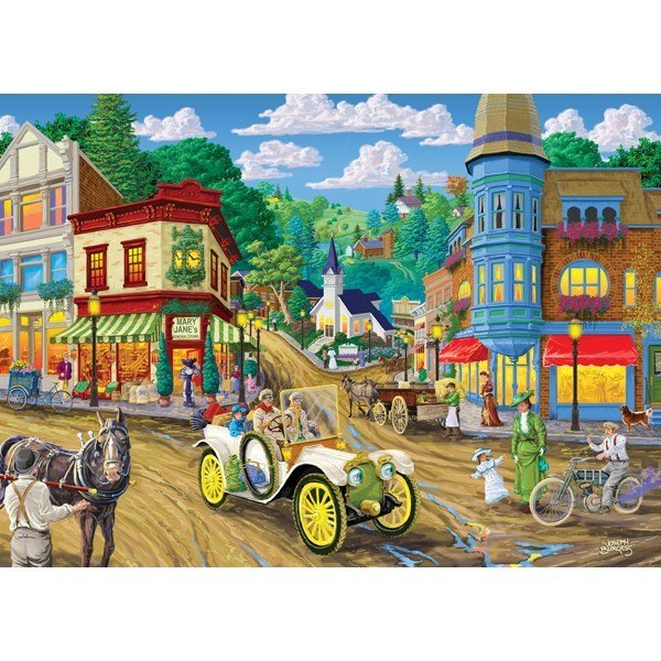 Main Streets: Mary Jane's Store - 1000pc Jigsaw Puzzle by Holdson  			  					NEW