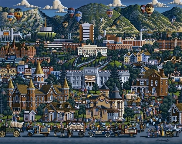 Provo - 500pc Jigsaw Puzzle by Dowdle