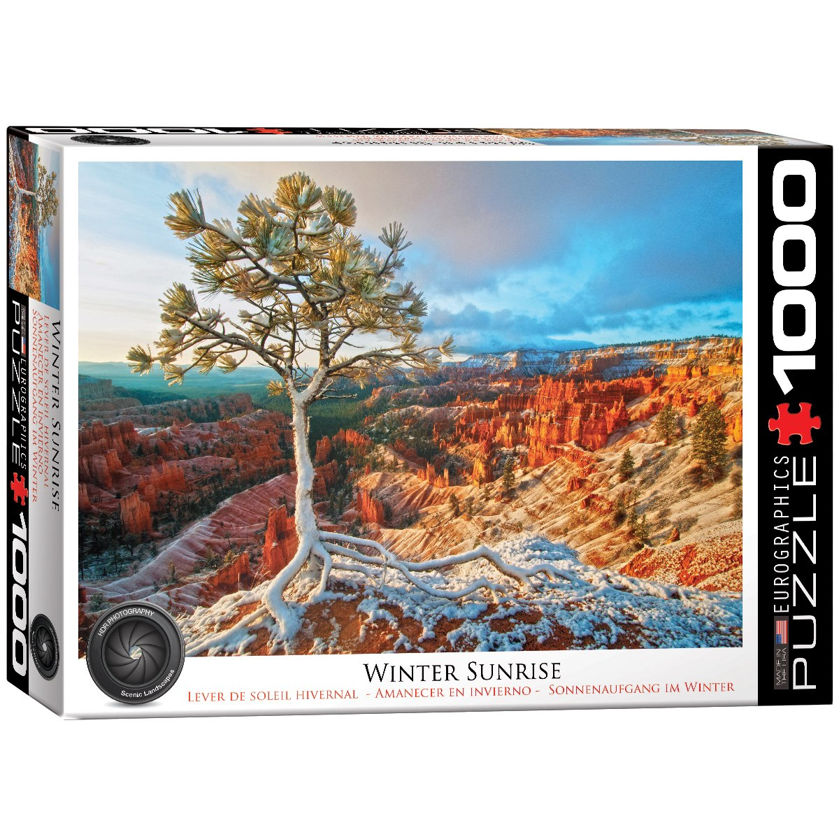 Winter Sunrise - 1000pc Jigsaw Puzzle by Eurographics