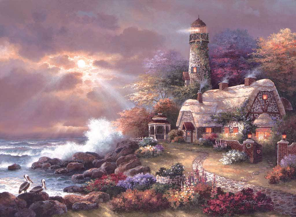 Heaven's Light - 1500pc Jigsaw Puzzle by Sunsout
