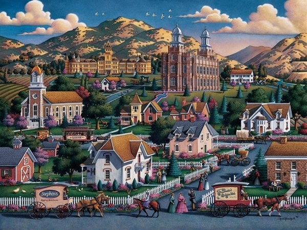 Logan Summer - 500pc Jigsaw Puzzle by Dowdle