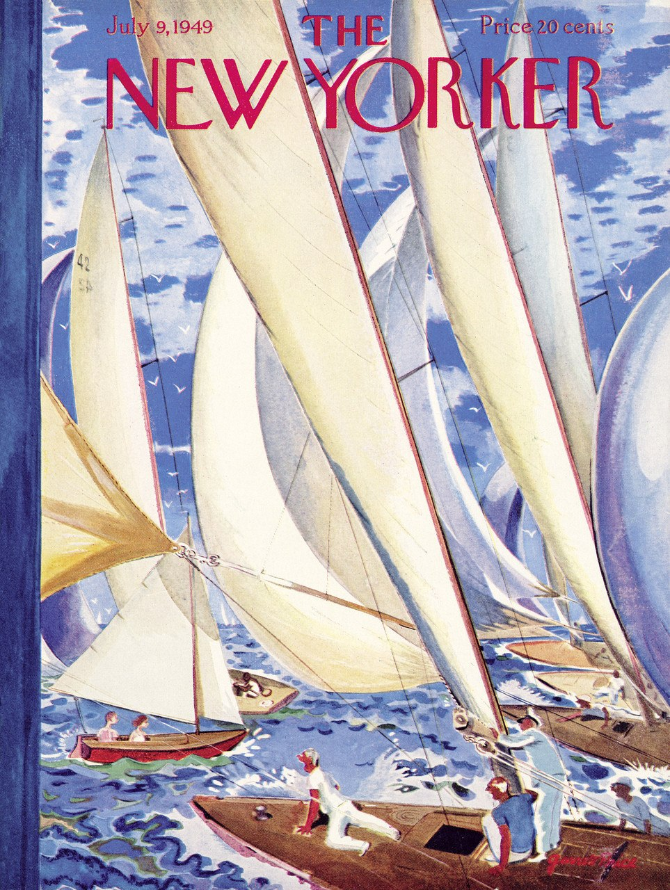 Regatta - 1000pc Jigsaw Puzzle by New York Puzzle Company