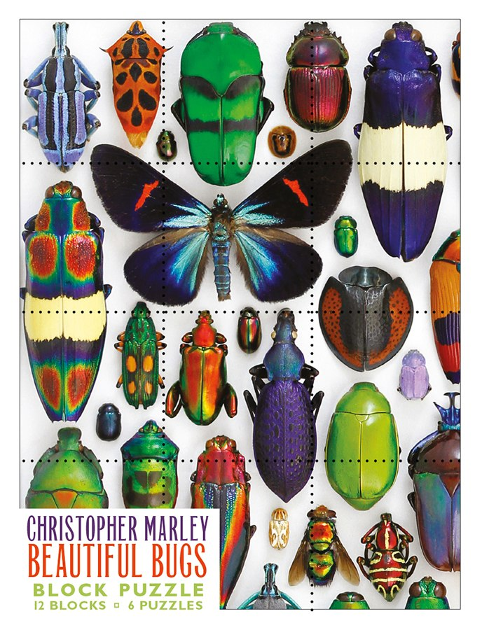 Marley: Beautiful Bugs - 12pc Block by Pomegranate  			  					NEW