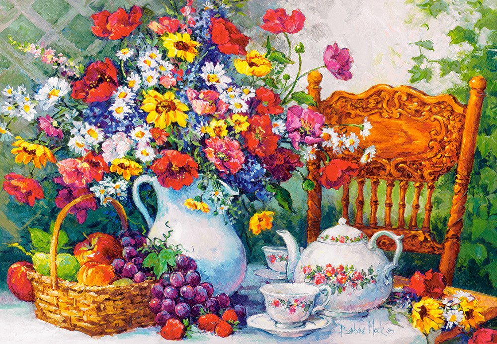 Time for Tea - 1000pc Jigsaw Puzzle By Castorland  			  					NEW
