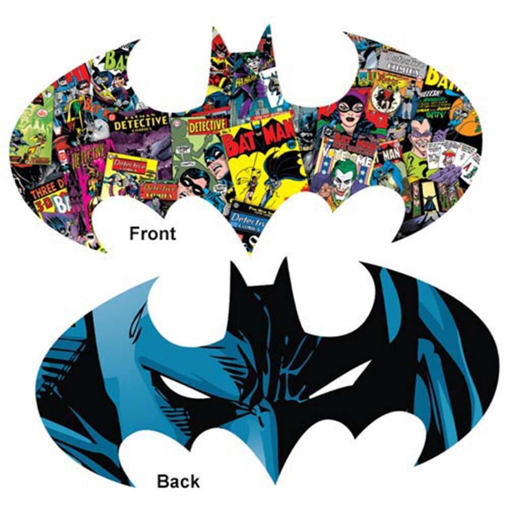 Batman Logo - 600pc Double-sided Shaped Jigsaw Puzzle by Aquarius  			  					NEW