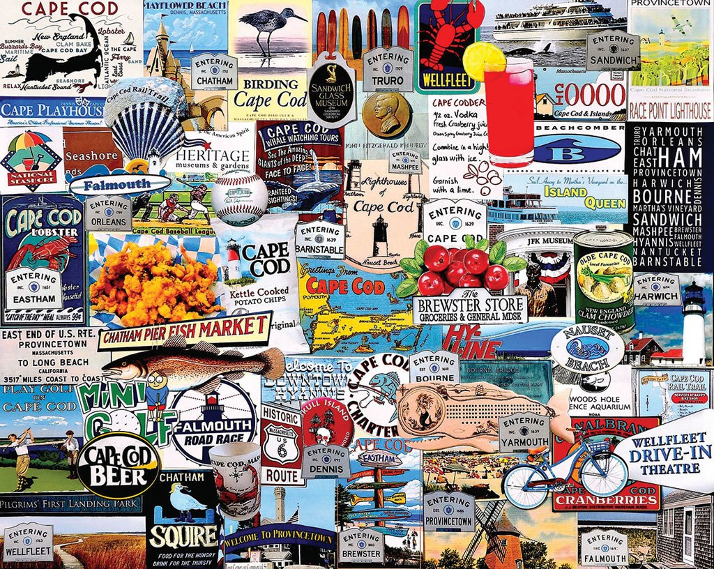 I Love Cape Cod - 1000pc Jigsaw Puzzle By White Mountain