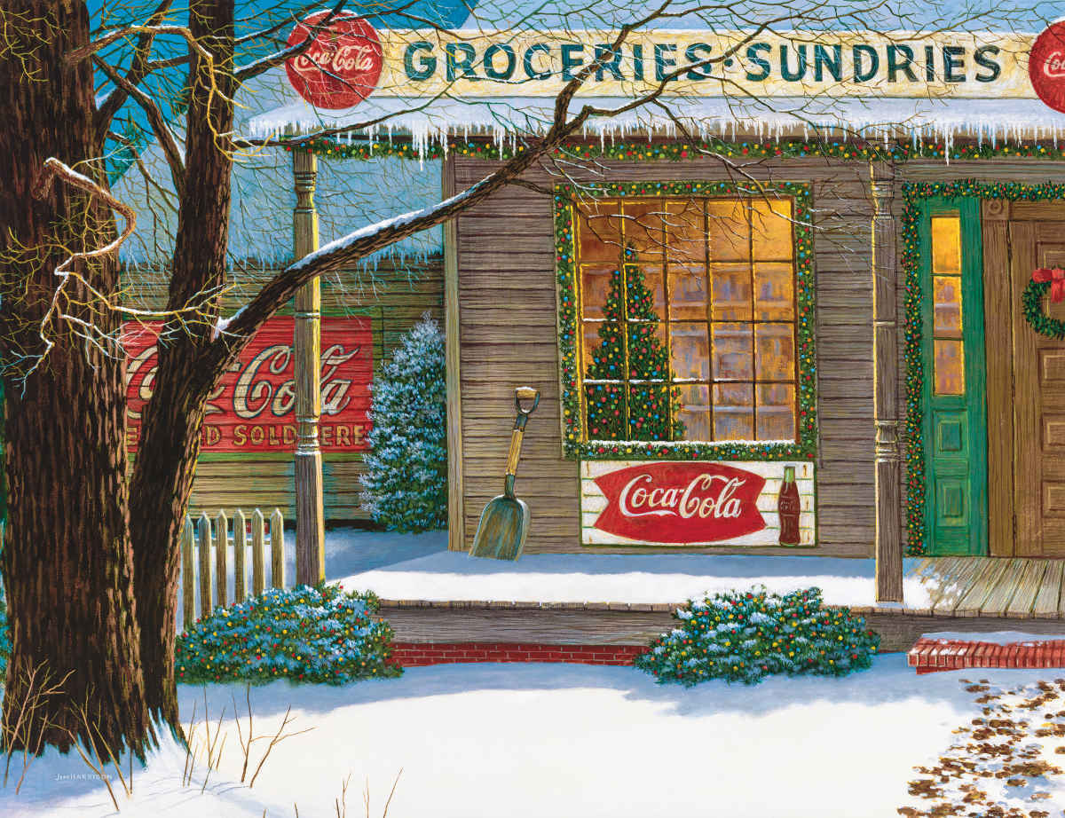 CC-Christmas Store - 500pc Jigsaw Puzzle By Springbok