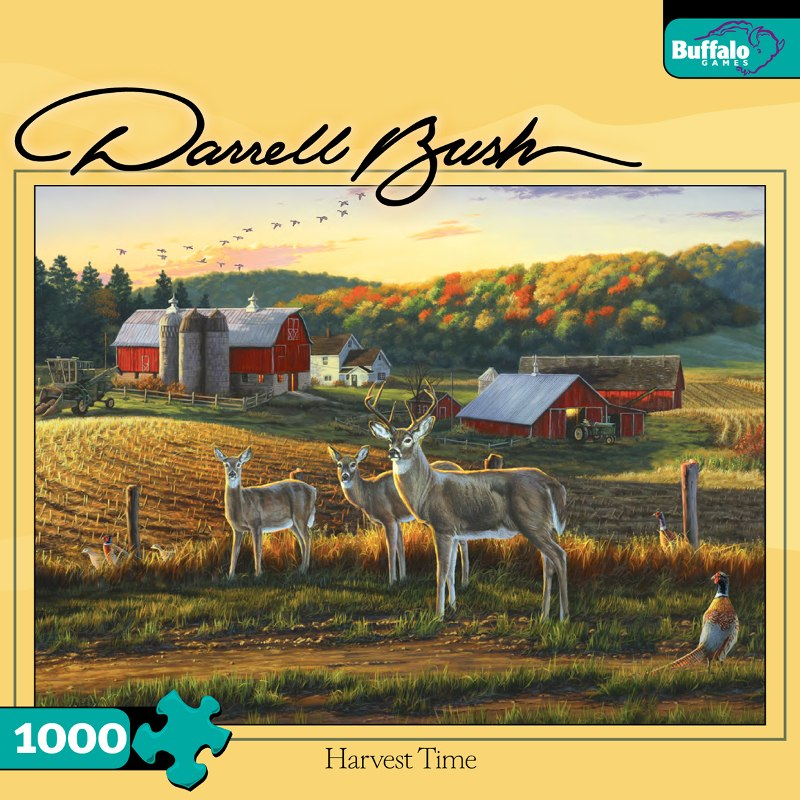 Harvest Time - 1000pc Jigsaw Puzzle By Buffalo Games