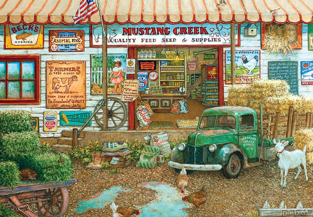 Signature: Farm & Fleet Store - 2000pc Jigsaw Puzzle by Masterpieces