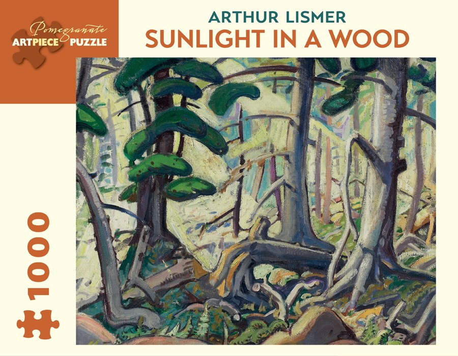 Lismer: Sunlight in a Wood - 1000pc Jigsaw Puzzle by Pomegranate