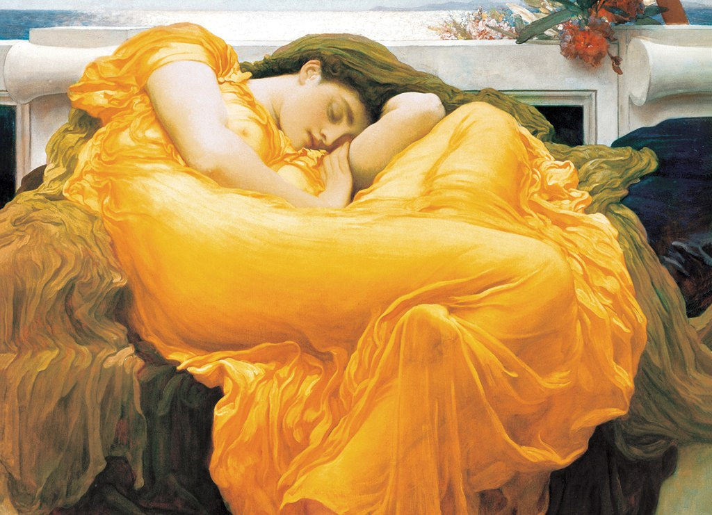 Flaming June - 1000pc Jigsaw Puzzle by Eurographics