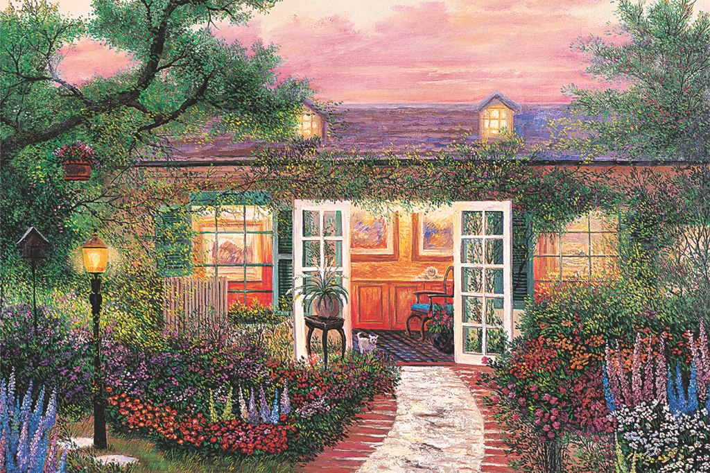 Sweet Home - 1500pc Jigsaw Puzzle by Tomax