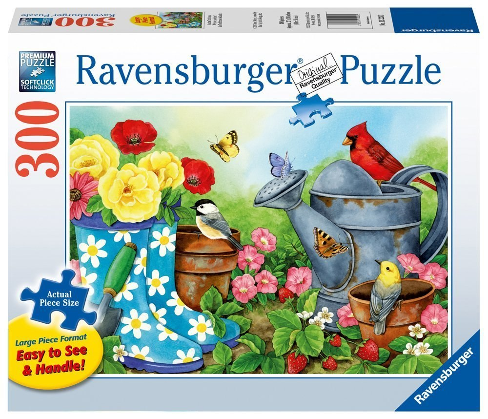 Garden Traditions - 300pc Large Format Jigsaw Puzzle by Ravensburger - image 1