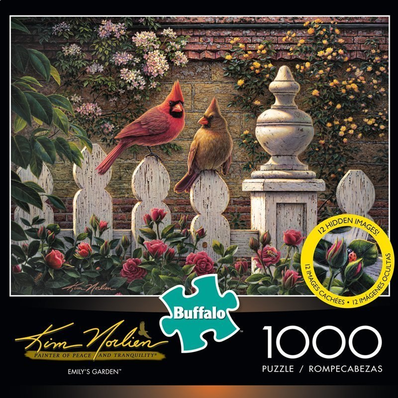 Kim Norlien: Emily's Garden - 1000pc Jigsaw Puzzle by Buffalo Games - image 1