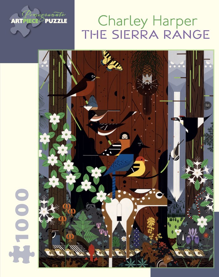 Harper: The Sierra Range - 1000pc Jigsaw Puzzle by Pomegranate