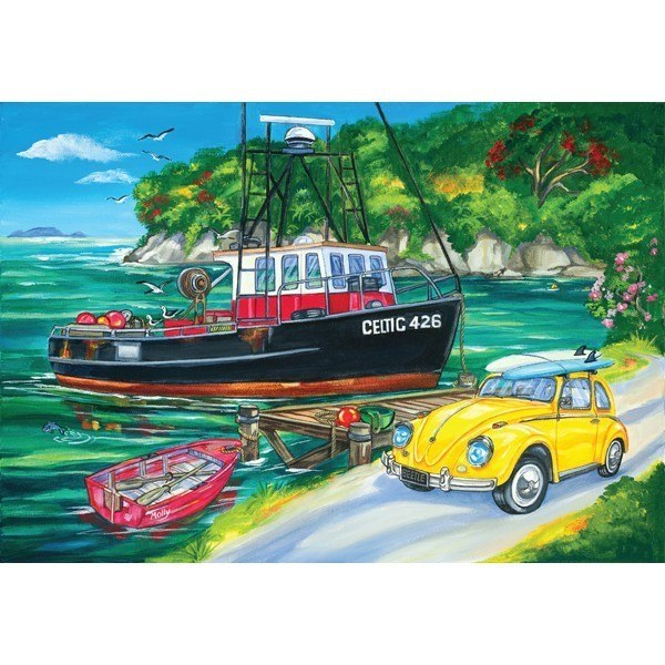 Southern Skies III: Beetle Bay - 500pc Jigsaw Puzzle by Holdson  			  					NEW