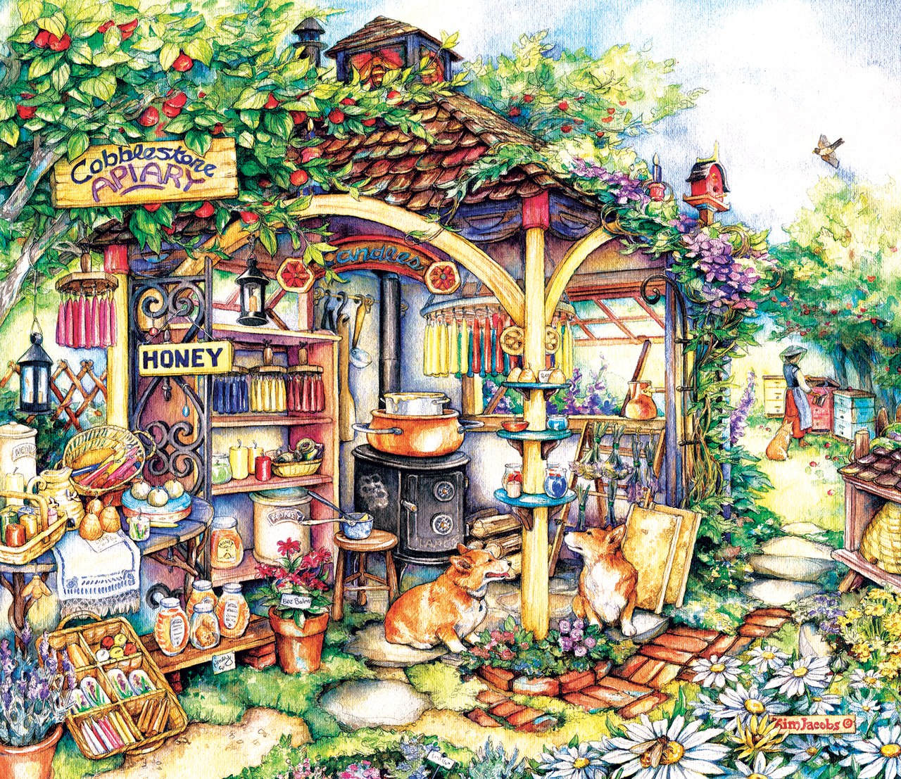 The Apiary - 550pc Jigsaw Puzzle By Sunsout  			  					NEW