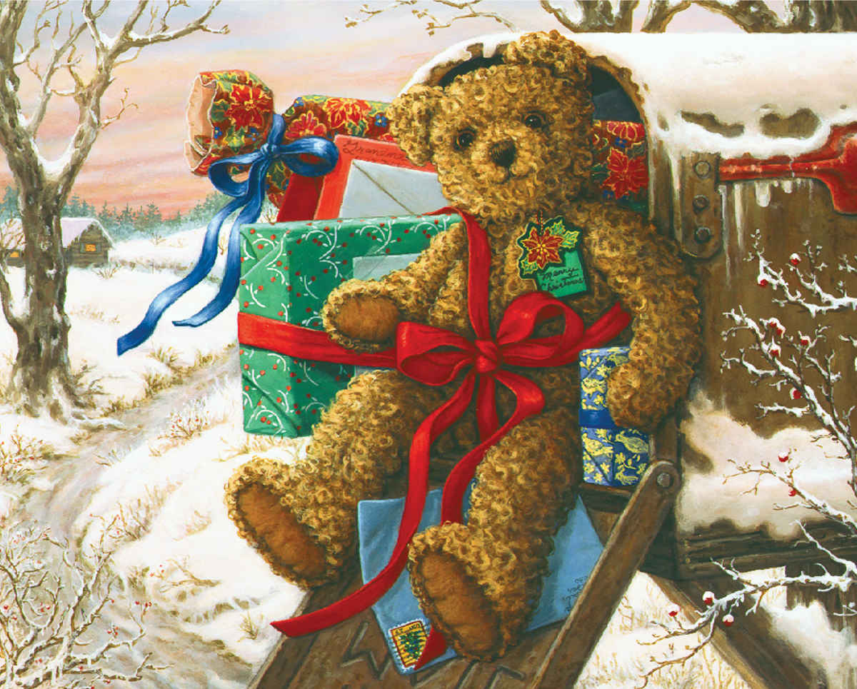 Holiday Delivery - 1000pc Jigsaw Puzzle by Springbok  			  					NEW
