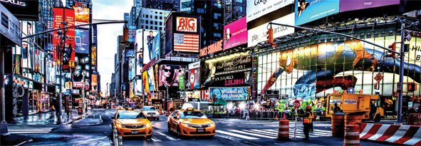 Times Square - 1000pc Jigsaw Puzzle by Anatolian  			  					NEW