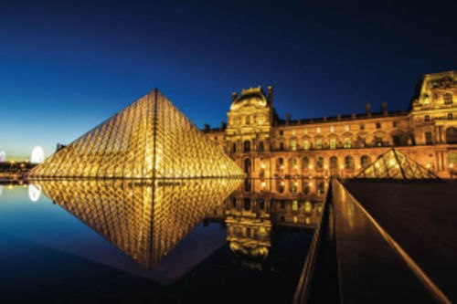 The Louvre by Night - 1000pc Jigsaw Puzzle by Schmidt