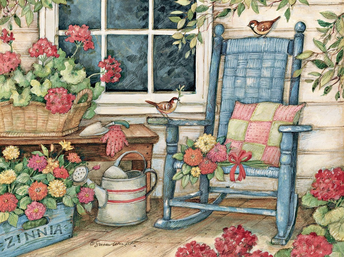 Rocking Chair - 500pc Jigsaw Puzzle by Lang  			  					NEW