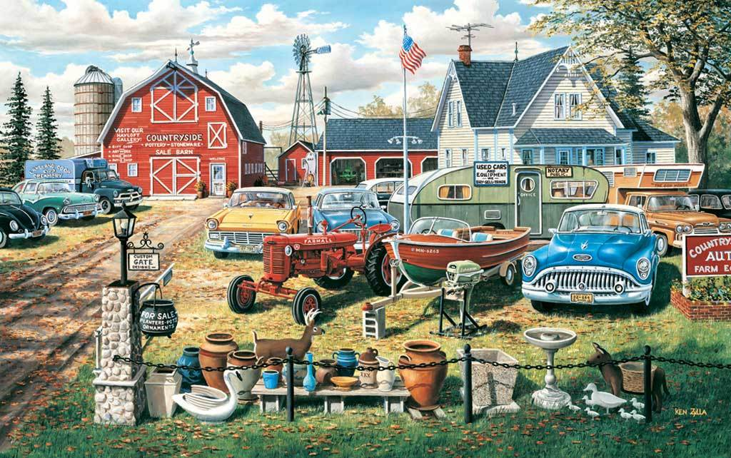 A Bumper Crop - 500pc Jigsaw Puzzle By Sunsout