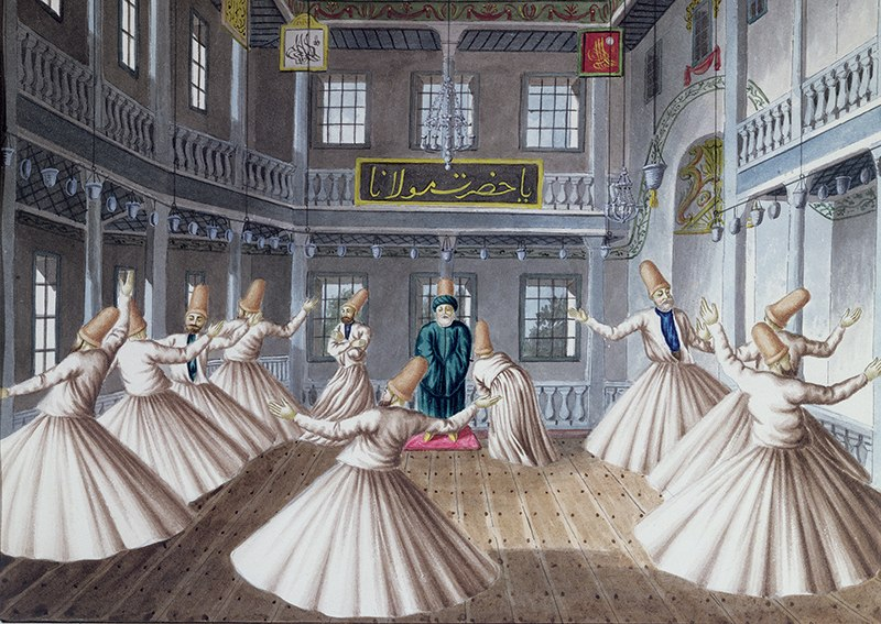 Whirling Dervishes - 1500pc Jigsaw Puzzle by Anatolian